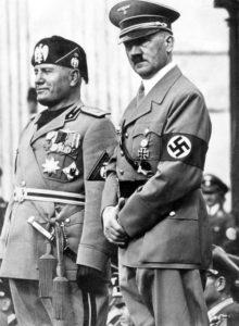 Mussolini i Gitler