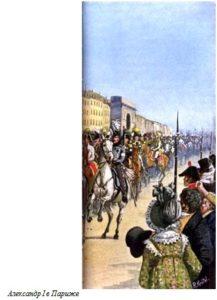 Александр I в Париже