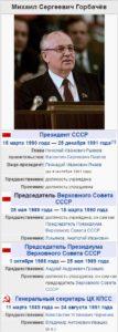 Горбачёв, Михаил Сергеевич