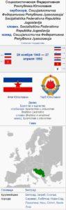 Социалистическая Федеративная Республика Югославия