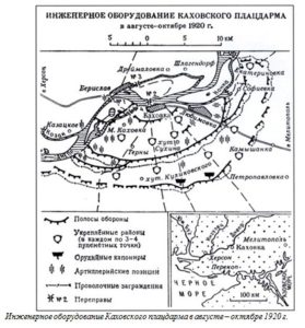 Инженерное оборудование Каховского плацдарма в августе – октябре 1920 г