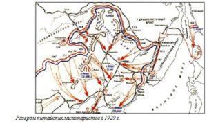 Разгром китайских милитаристов в 1929 г.