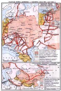Разгром войск Деникина и Юденича