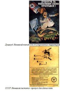 СССР. Немецкая листовка – пропуск для сдачи в плен