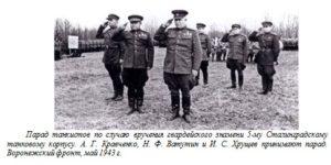 Воронежский фронт, май 1943 г.