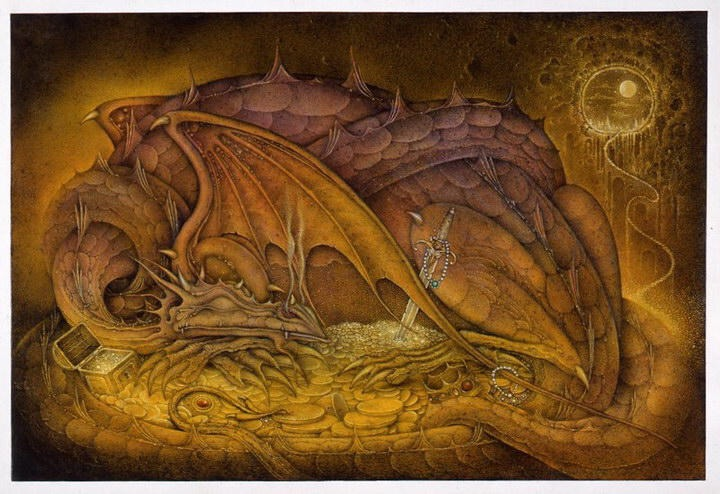 beowulf fights dragon essay Free essay: beowulf's three fights in the epic poem beowulf, the character beowulf is seen to have three battles the first battle is against grendel, the.
